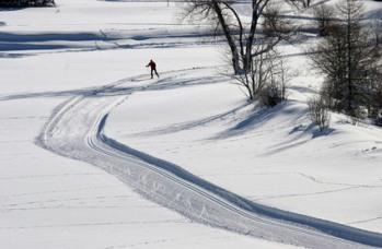 Ski de fond. Ubaye/ClaudeGouron
