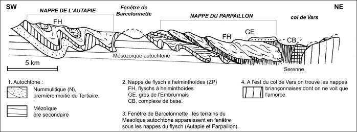 carte geol ubaye